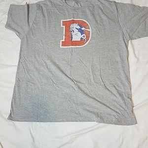 Other - Denver Broncos #1 Dad Distressed Shirt 3XLB NWOT